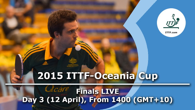 2015 ITTF Oceania Cup and Pacific Cup Finals