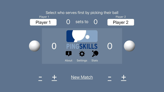 Win the PingSkills Scoring App
