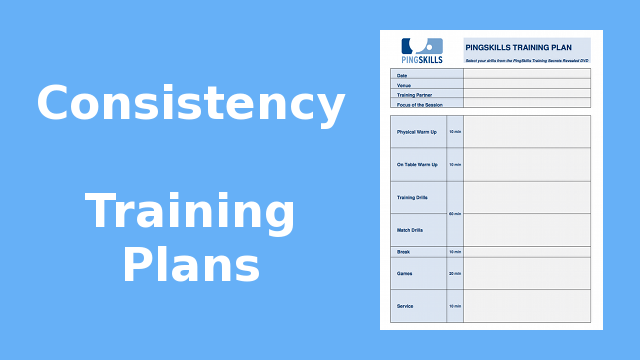 Weeks 1 to 4: Consistency Training Plans