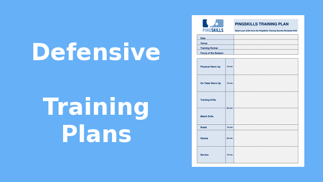 Weeks  33 to 36: Defensive Training Plans