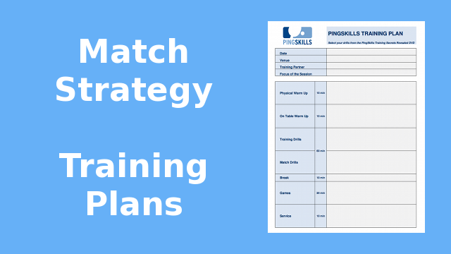 Weeks 41 to 44: Match Strategy Training Plans